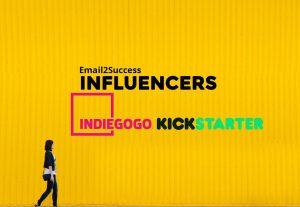 2900I will research 300 Kickstarter crowdfunding influencers