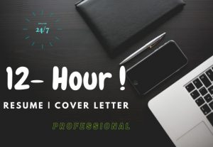 3116I will deliver 12-hour professional resume writing & design  and Cover Letter service