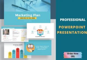 3154I will design professional and modern PowerPoint presentation