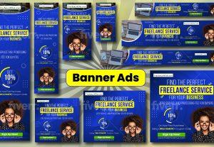 3980I will design web affiliate banner, google adwords, advertising banner