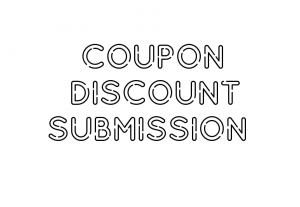 4587I will submit coupon and discount to 25 coupon sites
