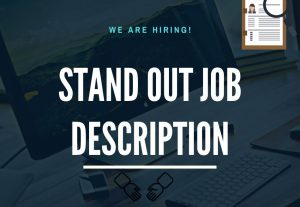 5550I will write a compelling job description and advert