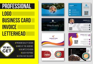 5800I will create company logo, business card, invoice and letterhead template
